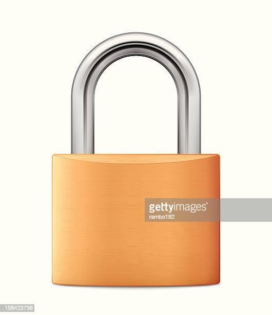 padlock - padlock stock illustrations