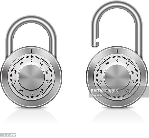 padlocks - closing stock illustrations, clip art, cartoons, & icons