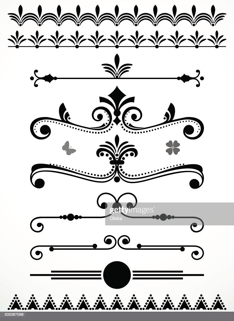Page decorations