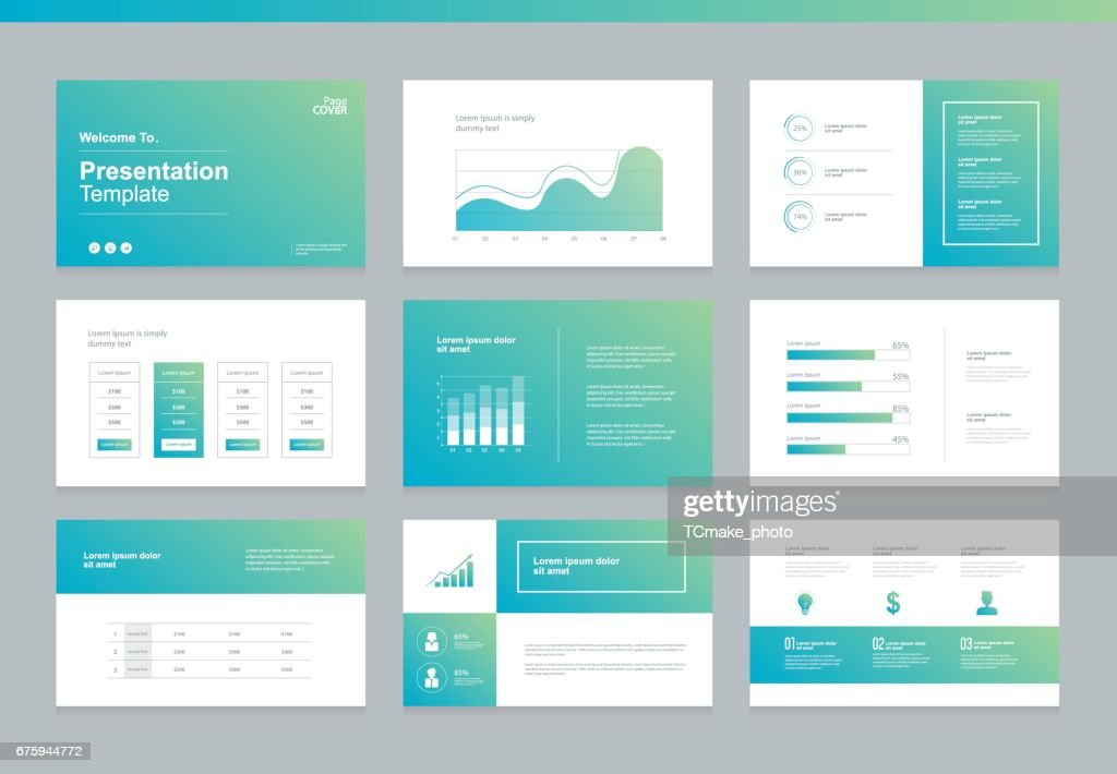 page layout and cover design for brochure ,report,book and presentation template