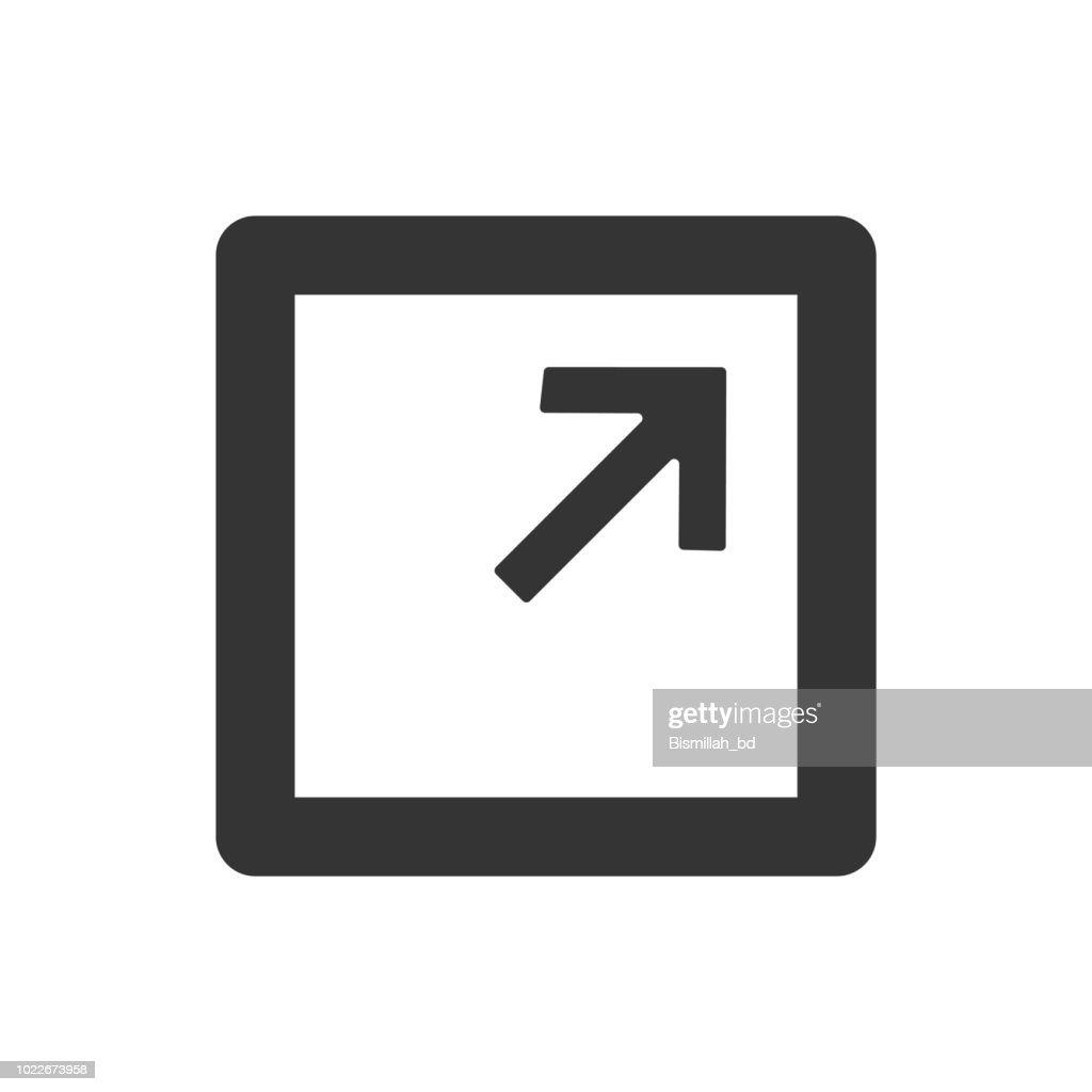 Page maximize icon