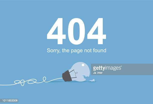page not found - wrong way stock illustrations, clip art, cartoons, & icons