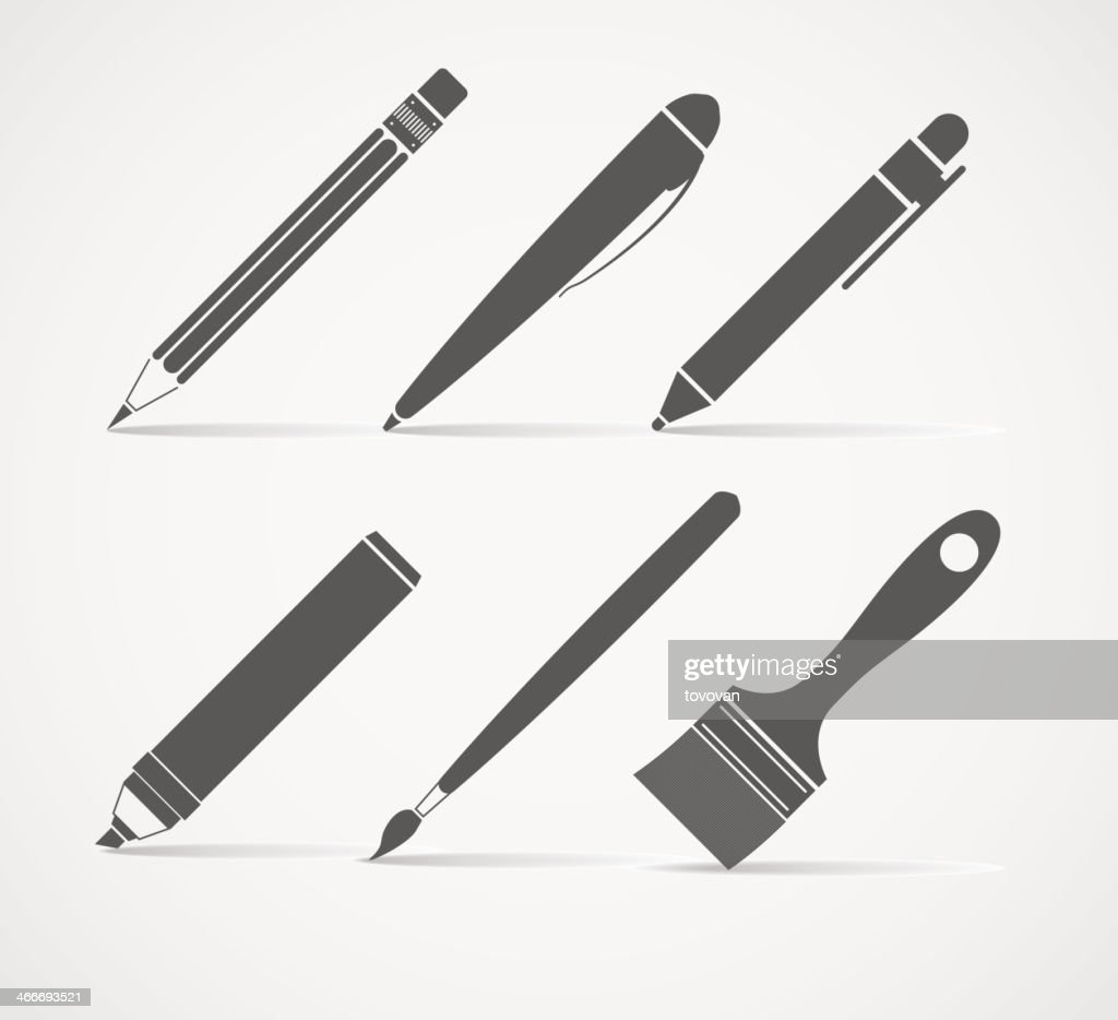 Paint and writing tools