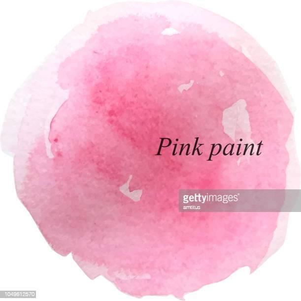 farbe-patch - sensibilisierung für brustkrebs stock-grafiken, -clipart, -cartoons und -symbole