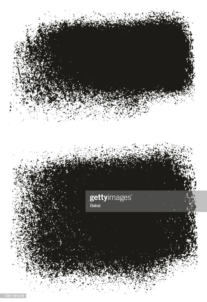 Paint Roller Rough Backgrounds High Detail Abstract Vector Lines & Background Set 125