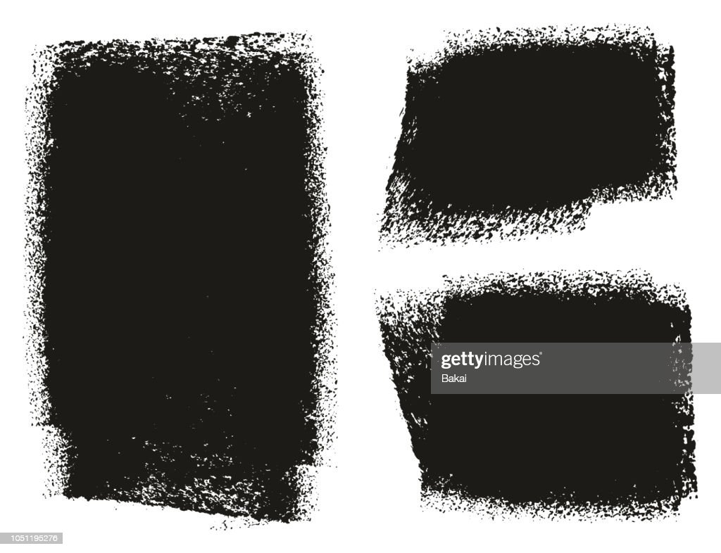 Paint Roller Rough Backgrounds High Detail Abstract Vector Lines & Background Set 147