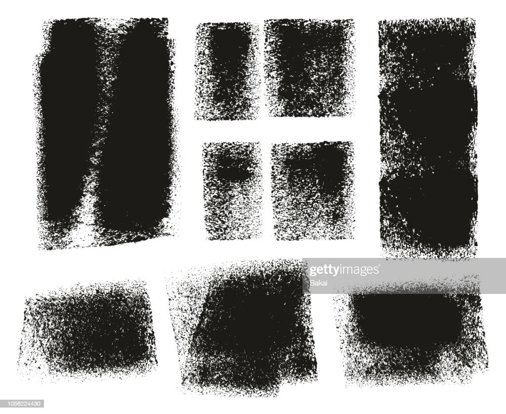 Paint Roller Rough Backgrounds & Lines High Detail Abstract Vector Lines & Background Mix Set 147