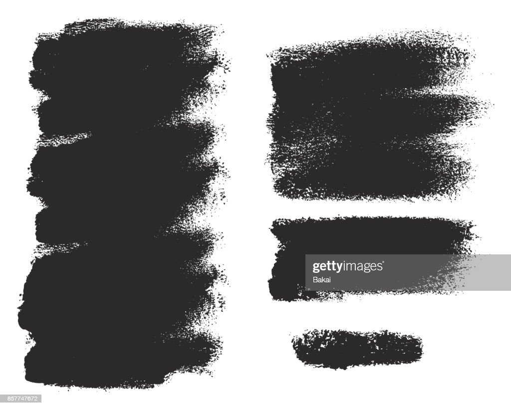 Paint Roller Strokes Vector Patterns & Vector Backgrounds Set 14