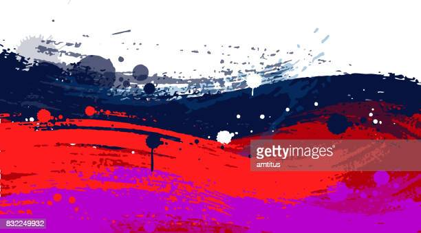 paint stroke background - rough stock illustrations, clip art, cartoons, & icons