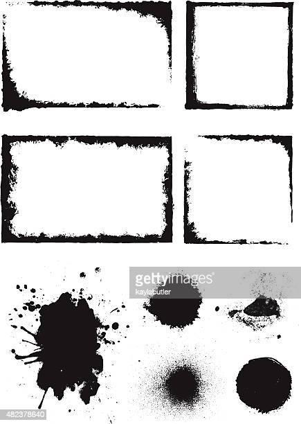Paint Texture Element Set
