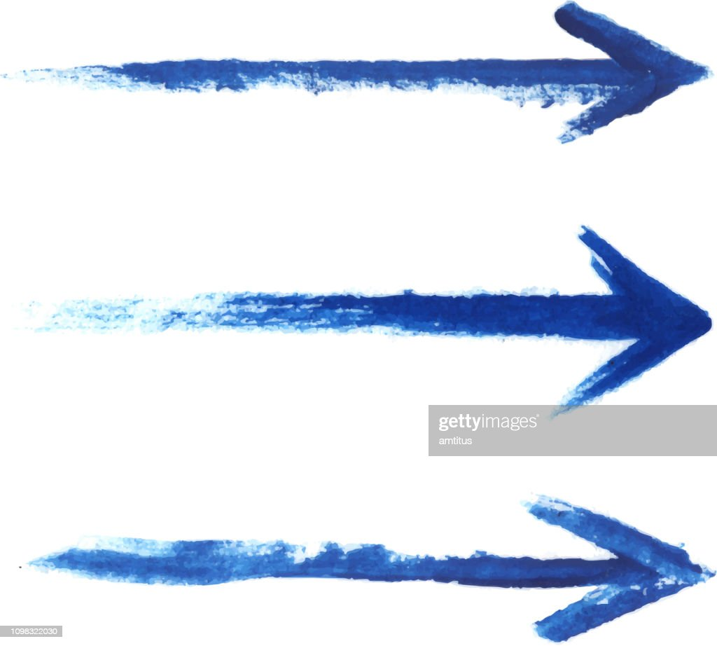 painted arrows
