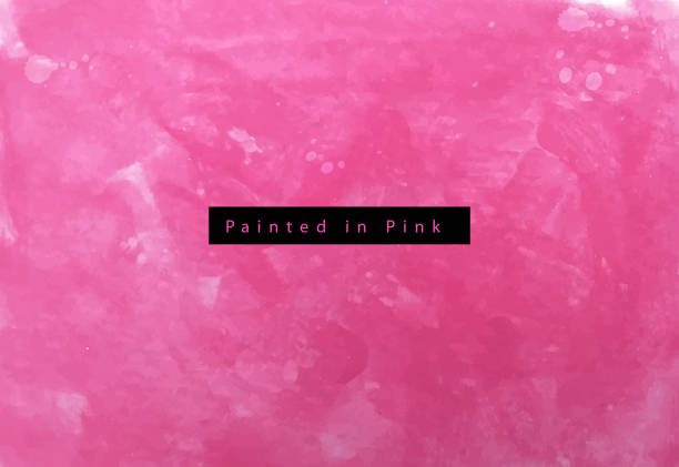 painted in pink - pink stock illustrations