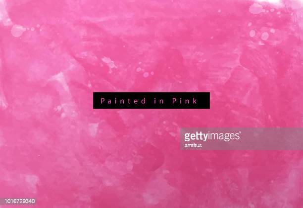 painted in pink