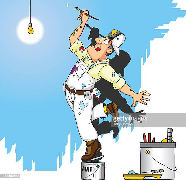painter ballet - obsessive stock illustrations, clip art, cartoons, & icons
