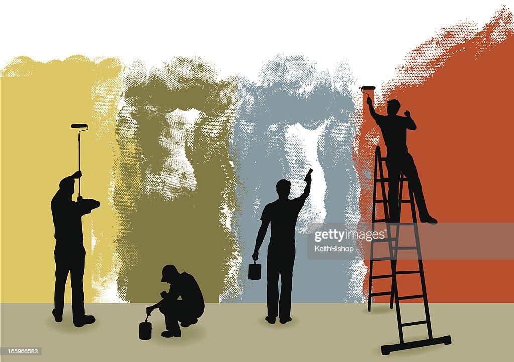 Painters Background - Home Improvement, Repairman