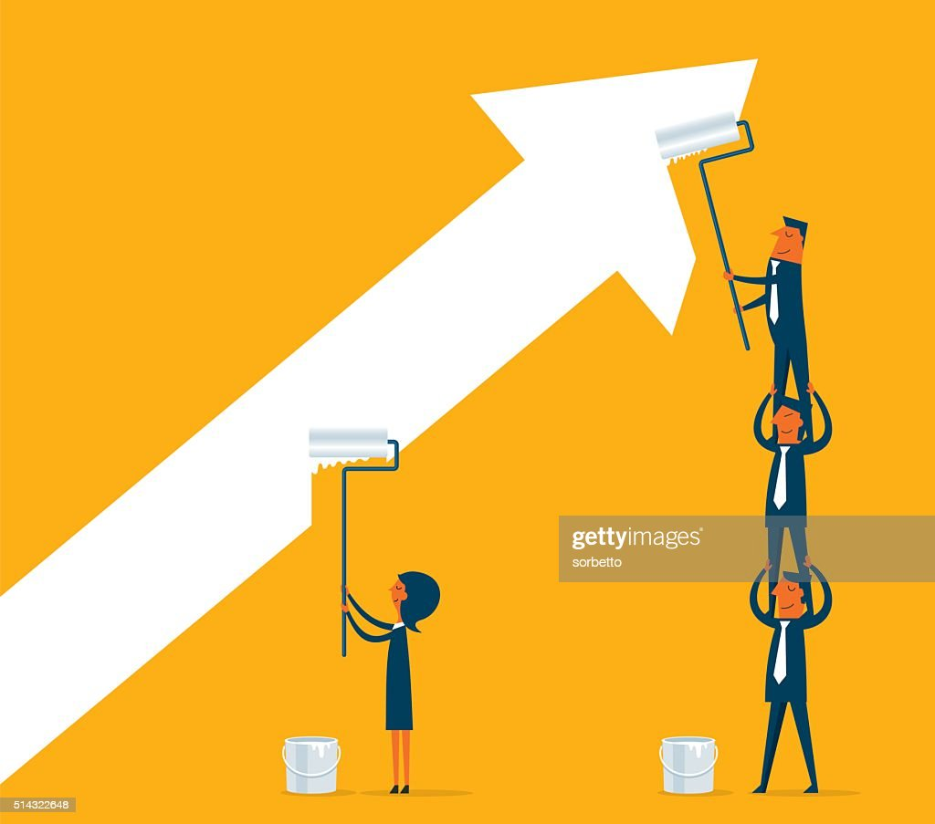 Painting Business : stock illustration