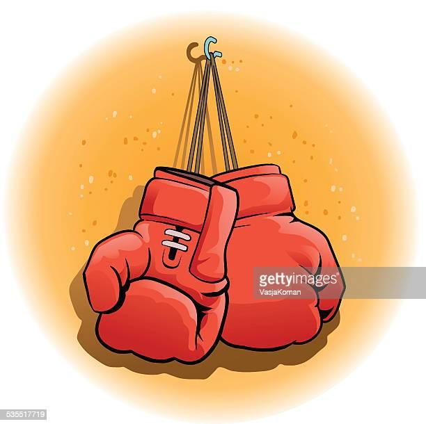 Illustrations et dessins anim s de gant de boxe getty images - Gant de boxe dessin ...
