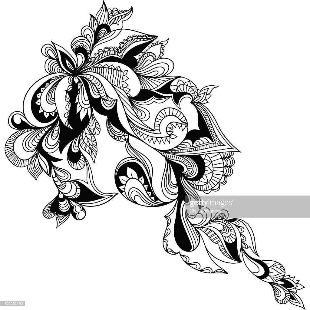 Paisley ornamental element