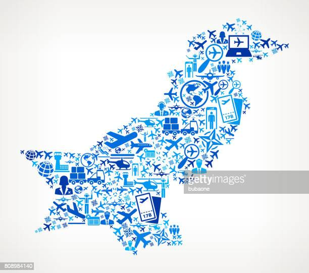 Pakistan Aviation and Air Planes Vector Graphic