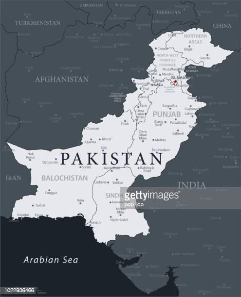 ilustrações, clipart, desenhos animados e ícones de 19 - paquistão - cinza preto 10 - punjabe