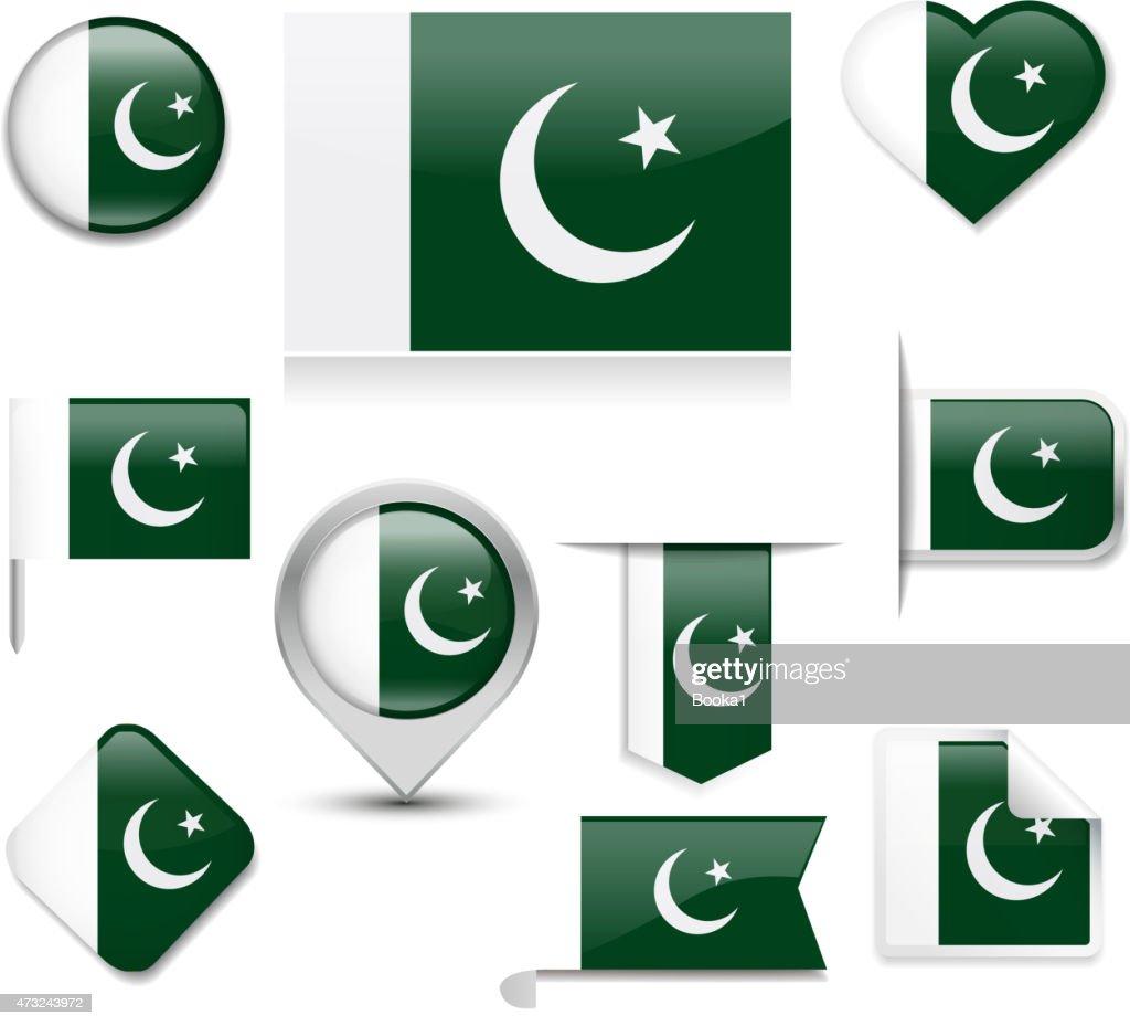 Pakistan Flag Collection