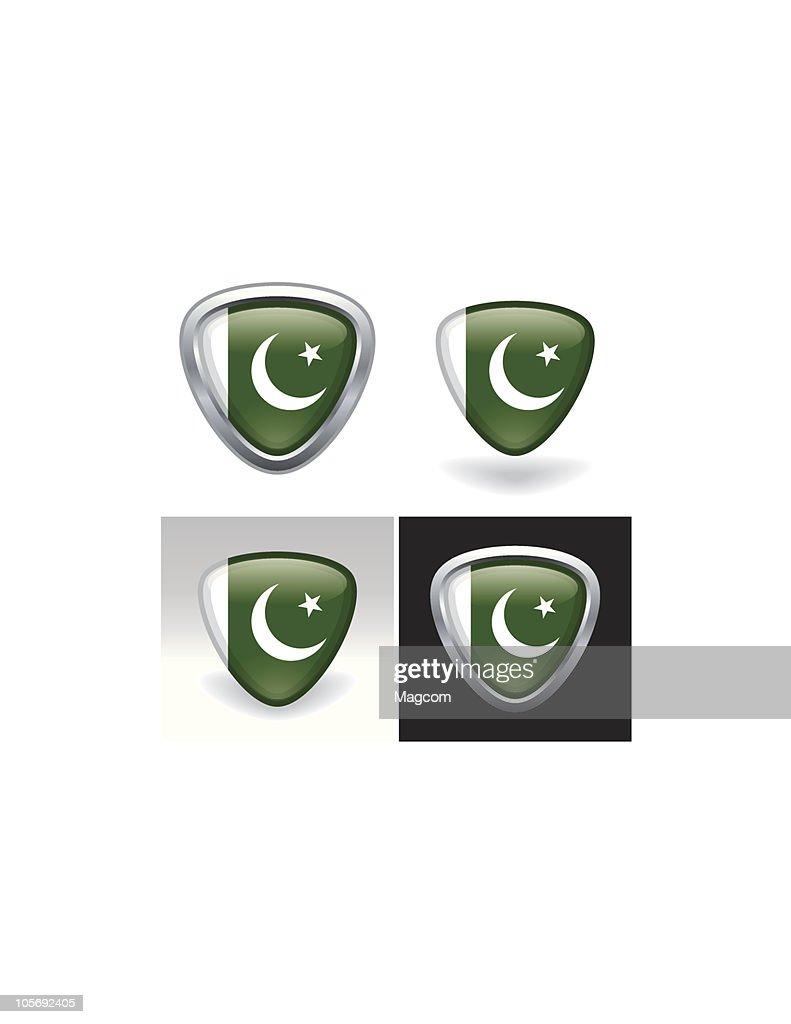 Pakistani Flag Crest