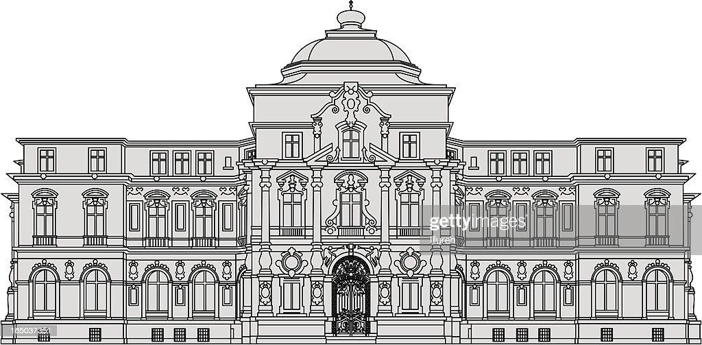 Palais Karlsruhe, historic building