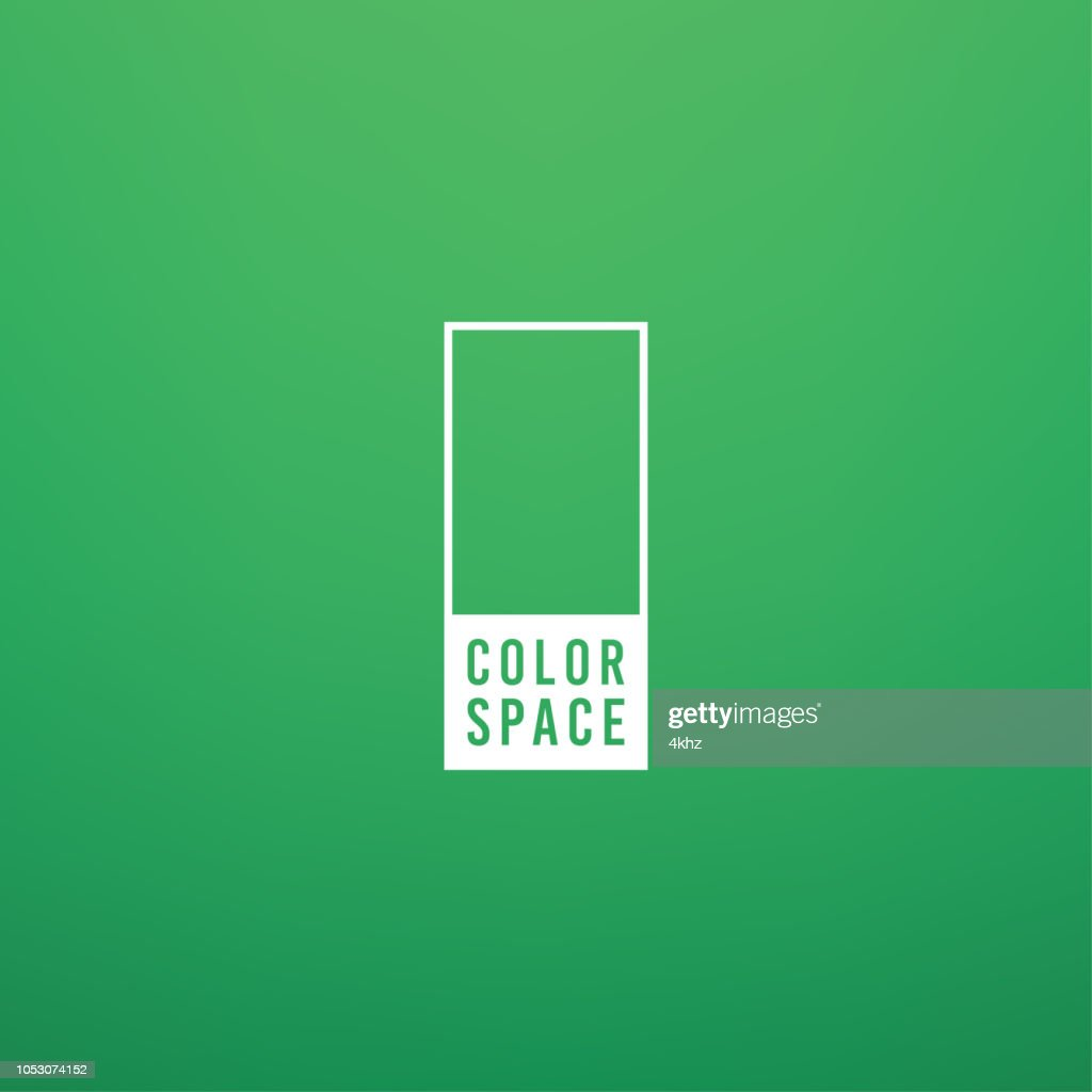 Pale Green Basic Elegant Soft Color Space Smooth Gradient Vector Background