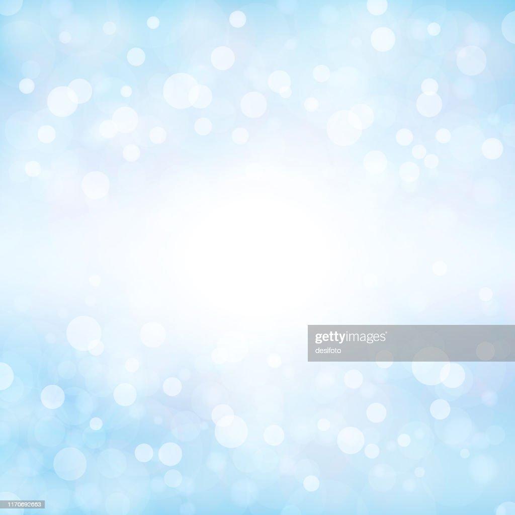 淡い柔らかい青色の輝く星空の正方形の背景ストックベクトルイラスト。Xmas冬の白と青の色のストックの背景 : ストックイラストレーション