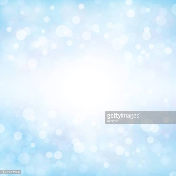 pale soft blue coloured shining starry square backgrounds stock vector illustration. xmas winter white and blue coloured stock background - illuminated stock illustrations