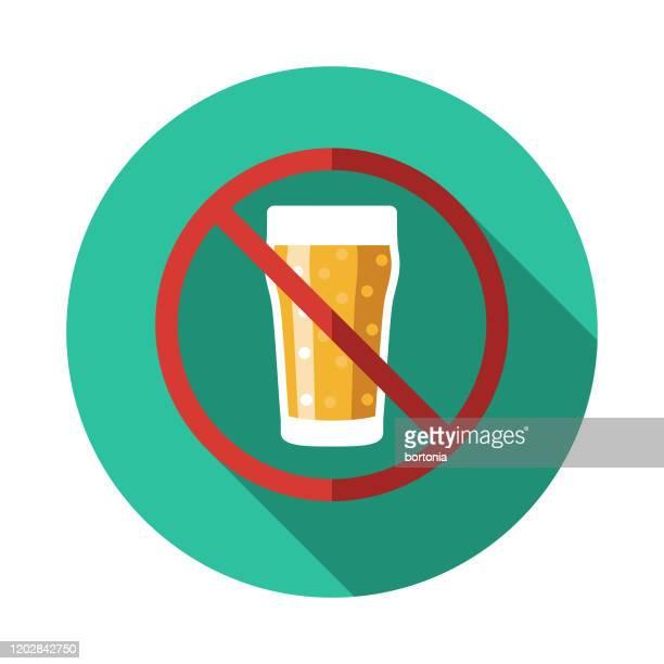 paleo diet no beer icon - paleolitico stock illustrations