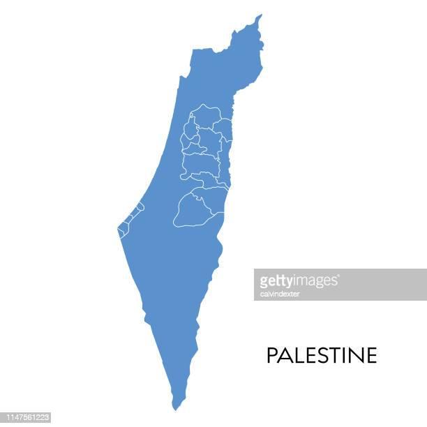 ilustraciones, imágenes clip art, dibujos animados e iconos de stock de mapa de palestina - cultura palestina