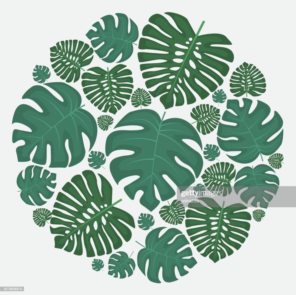 Palm leaf decoration