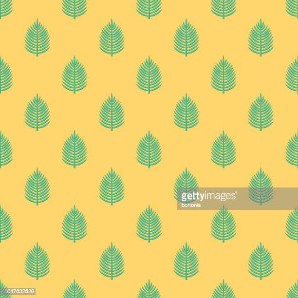 palm sunday seamless pattern - christianity stock illustrations