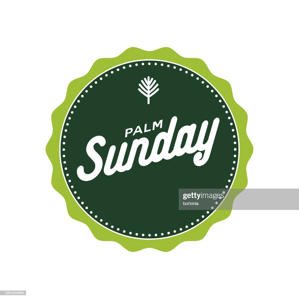 Palm Sunday : stock illustration