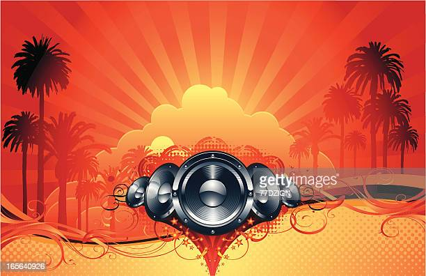 palm tree speaker sound