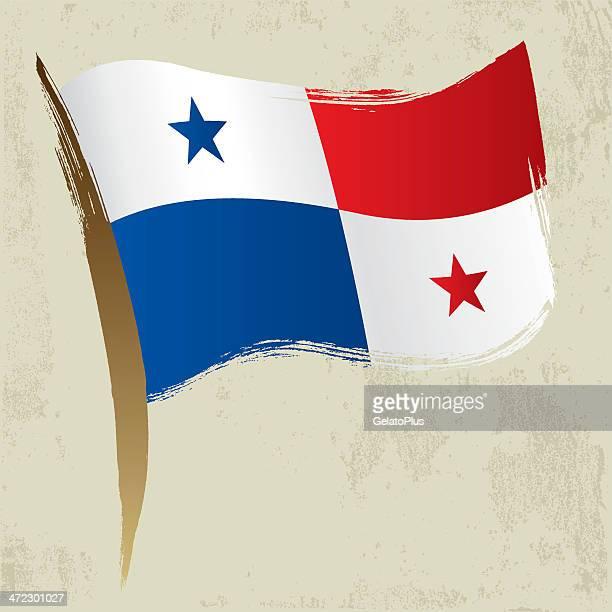 panamanian flag - panama city stock illustrations, clip art, cartoons, & icons