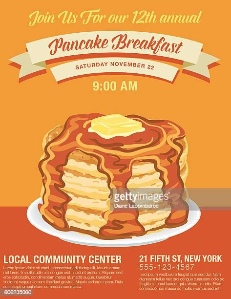 pancake stock illustrations and cartoons