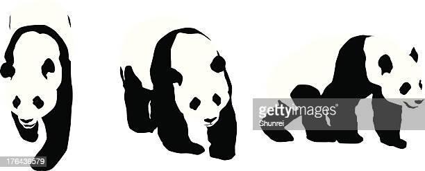 60点のパンダのイラスト素材クリップアート素材マンガ素材アイコン