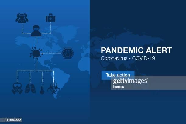 illustrations, cliparts, dessins animés et icônes de alerte pandémique de l'interface utilisateur avec fond wolrd carte - masque africain