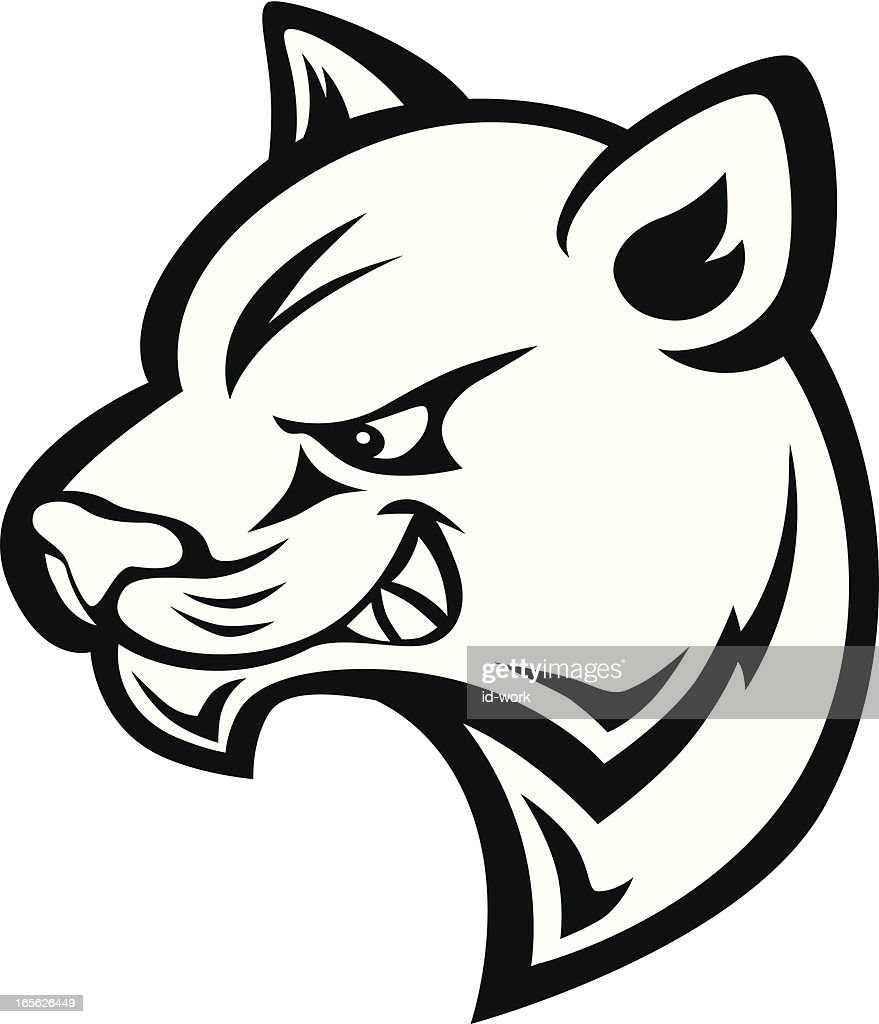 panther stance vector art getty images rh gettyimages com Panther Mascot Clip Art Panther Paw Clip Art
