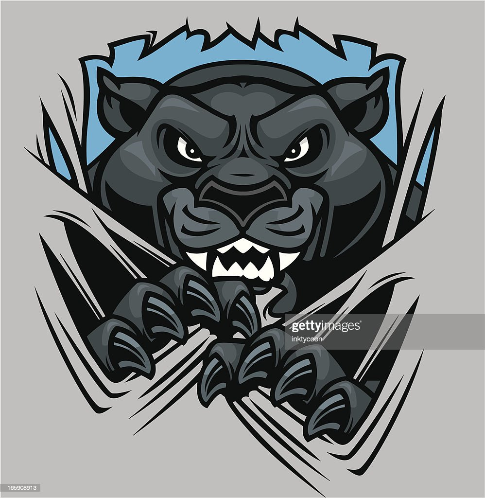 Panther Mascot Shred