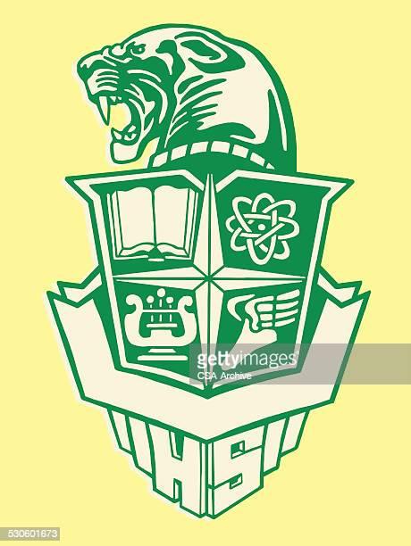 Panther School Crest