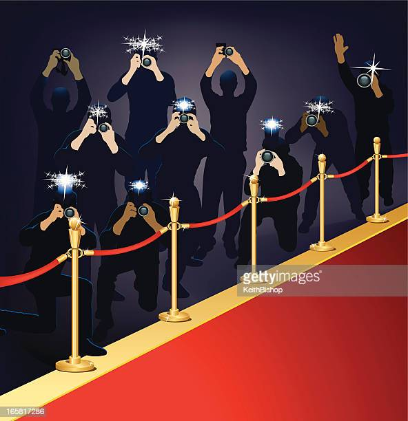 Paparazzi, Photojournalists - Photographers on Red Carpet