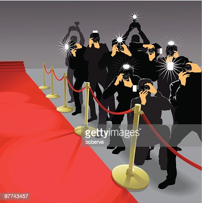paparazzi 2 vector art getty images