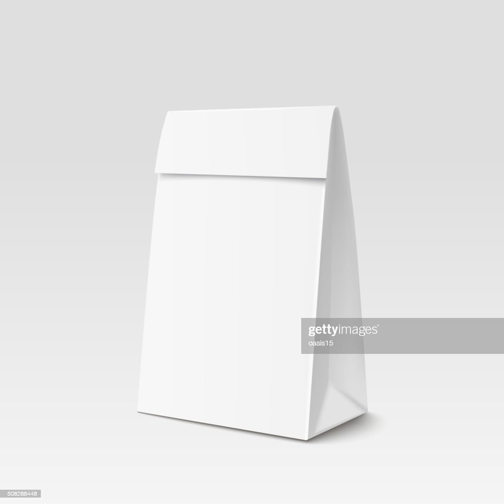 Paper Bag Package for advertising and branding