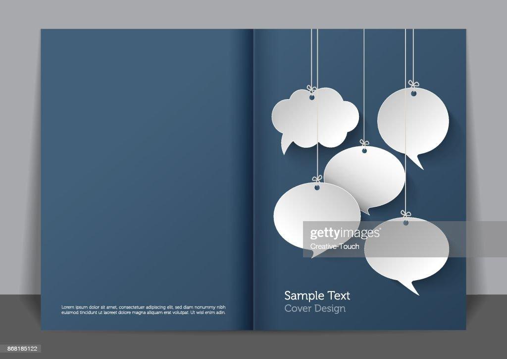 Paper Bubbles Cover design : stock illustration