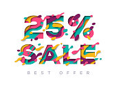 Paper cut sale 25 percent off