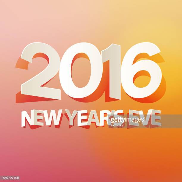 paper cutted art for 2016 new year - 2016 stock illustrations, clip art, cartoons, & icons