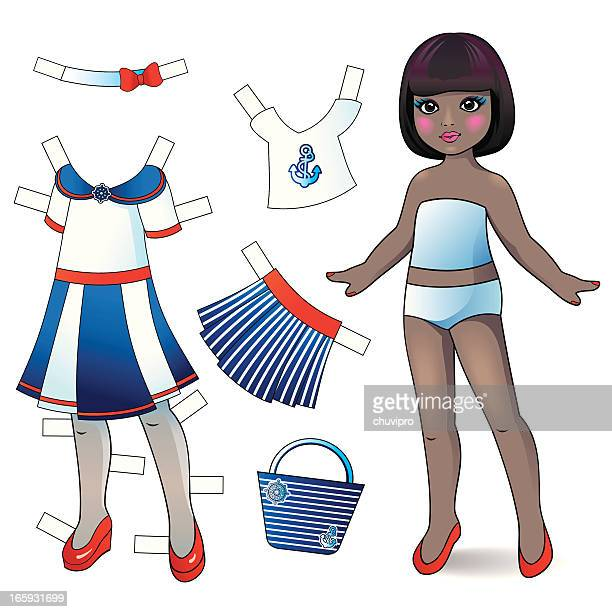 Paper doll.
